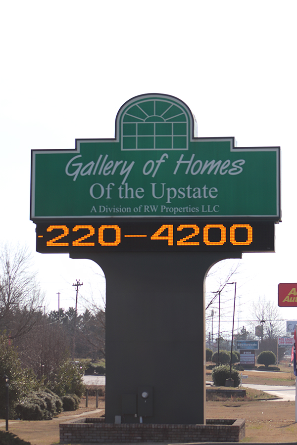 Gallery of Homes of the Upstate Sign